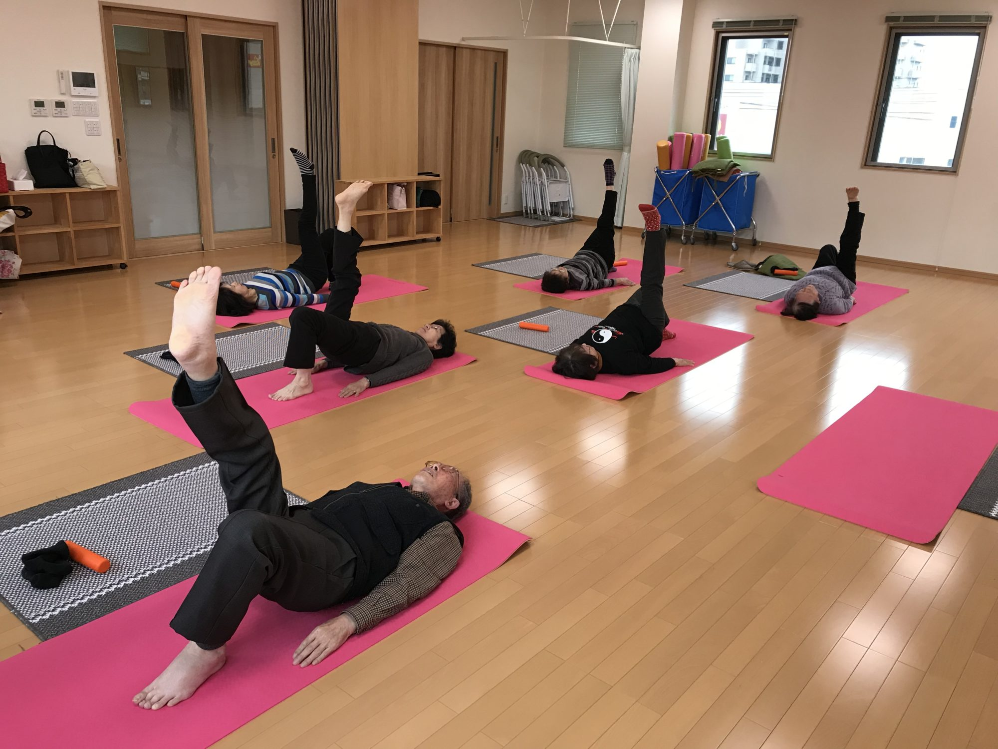 石川県金沢市、スタジオSeriの介護予防運動、平均83歳??