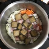 忙しい時は、ホットクックでカレーを作ります!チョー楽!