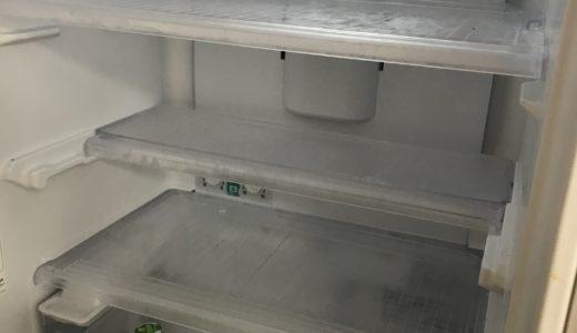 ブログを書いていて分かったこと。また月曜日の朝は冷蔵庫が空っぽ