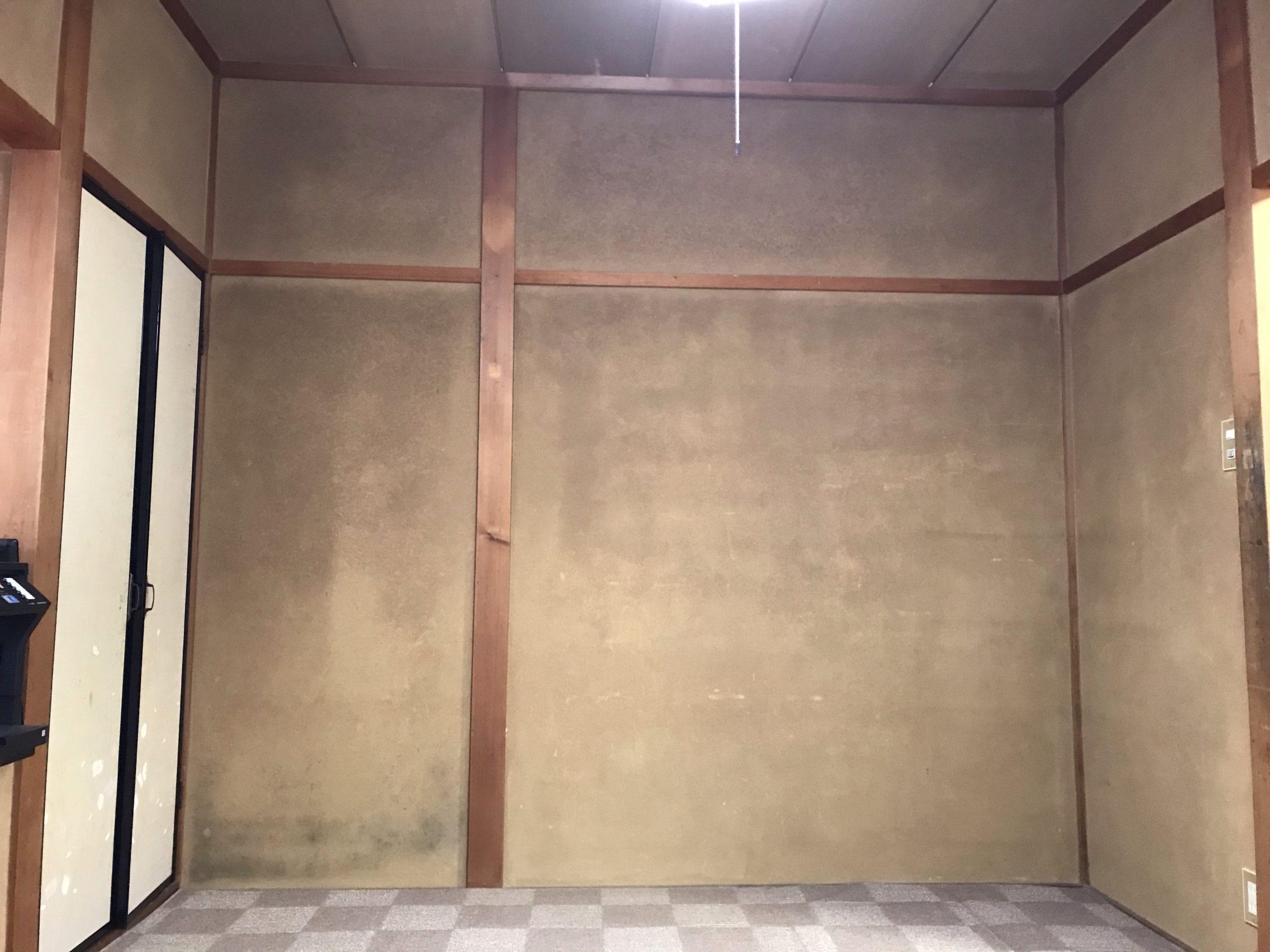 カビ 砂壁