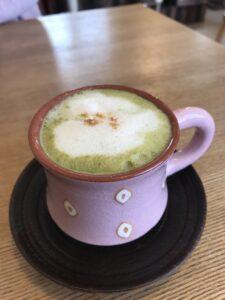 抹茶豆乳ラテ